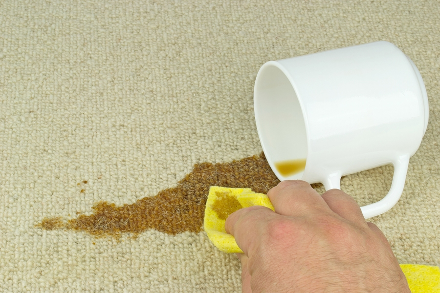 how to clean stains from white nylon